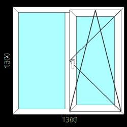 2stvorchatoe okno