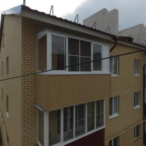 Внешняя отделка балконов